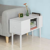 SoBuy Sofa Side Table Bookcases and Shelving units,FBT60-W