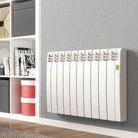 Radiador Eléctrico Rointe Serie D Blanco - 330W 3 elementos - BLANCO