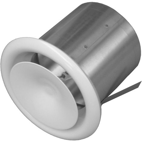 JONCOUX Bouche de soufflage à cône réglable pour conduits DAC 125