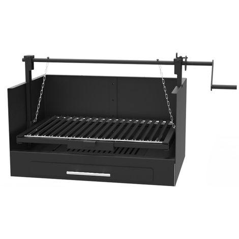 Barbecue argentin charbon bois FM BV-20 à poser
