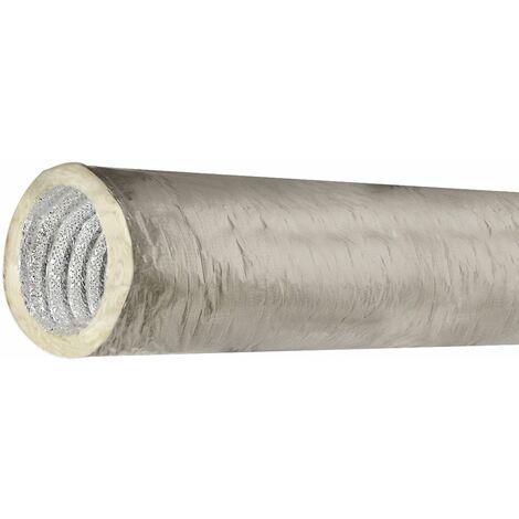 JONCOUX Conduit Souple isolé 125 mm Sonovac DAC - Longueur de 10 m