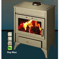 Poêle à bois bouilleur RAY MAX B 13kW - 21kW