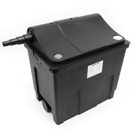 SunSun Bio filtro para estanques CBF-200A Equipo filtración Filtro flujo continuo Esponjas filtrado