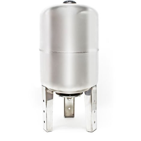 Vaso de expansión acero inoxidable 100L, depósito de presión, calderín grupo de presión doméstico