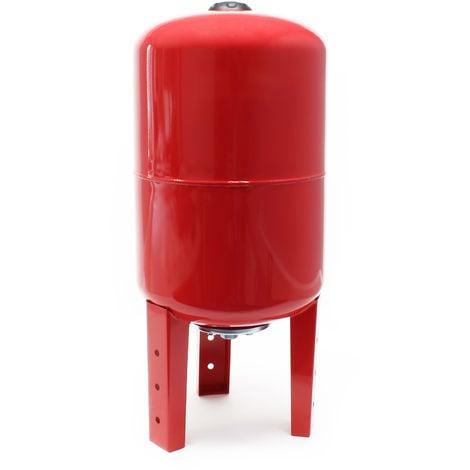 Vaso de expansión membrana EPDM 100L, depósito de presión, calderín para grupo de presión doméstico