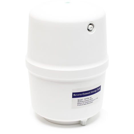 Tanque de agua 3G 11,35L Ósmosis inversa Accesorios filtros de agua Equipos ósmosis