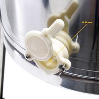 Extractor manual de miel 4 cuadros lucio perca DNM extractor de acero inoxidable apícola