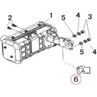 Pieza de repuesto de la junta de escape del motor diesel para 10 PS