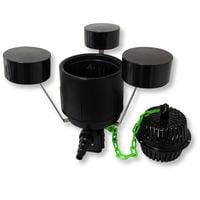 SunSun Kit Filtro Presiòn 10000L 11W UVC neo800070W Bomba 25m Manguera Skimmer CSP250 jardin