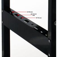 Banco trabajo Mesa taller Superficie trabajo Plegable max. 150kg Tablero lineado Metro Transportador