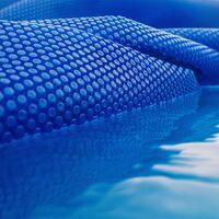 Cubierta solar piscina isotérmica Azul Redonda Ø 5m Lona térmica protectora Cobertor piscina