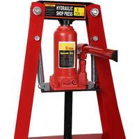 Prensa hidráulica 6T Fuerza presión Prensa de taller Bastidor-A Industria Mecánica Estampar Doblar