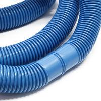 Manguera piscina azul con manguitos 32mm 9m 165g/m tubo plástico piscinas jardín Fabricado en Europa