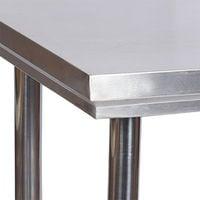 Mesa trabajo Acero Inox mesa jardín 100x60x85 cm ajustable