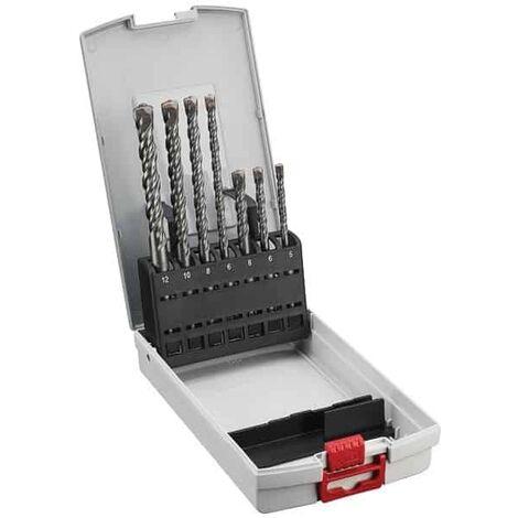 BOSCH Coffret 7 forets béton SDS-plus-5 - 2607018277