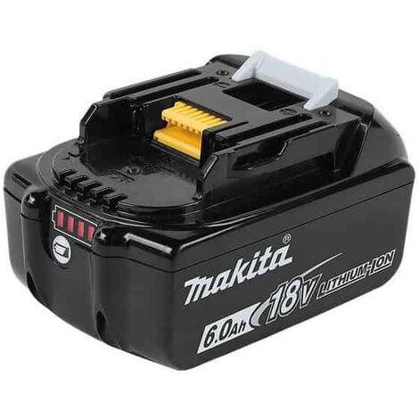 "main image of ""MAKITA Batterie Li-ion 18V 6Ah BL1860 B - 197422-4"""