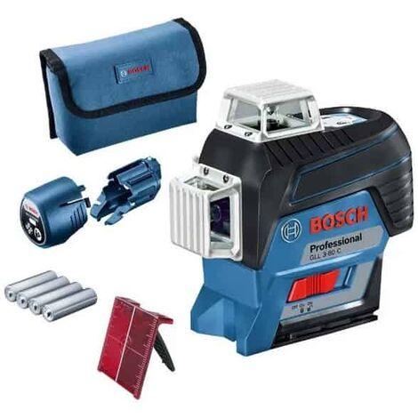 BOSCH Laser lignes auto 3 plans 30m GLL3-80C - 0601063R00