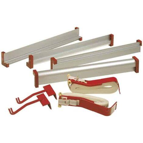 LAMELLO Kit 2 serre-joints + 2 sangles + 4 profilés 60cm - 175020