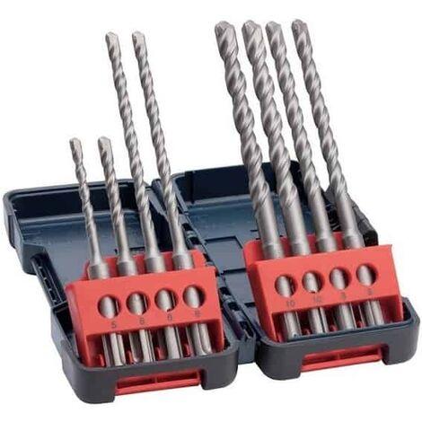 BOSCH coffret 8 forets beton SDS-plus - 2607019903