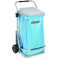 Carrello carry cart comfort claber 8926 pattumiera raccolta foglie rami