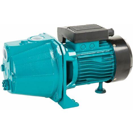 Wasserpumpe 60 l/min 1,1 kW 230V Jetpumpe Gartenpumpe Hauswasserwerk Kreiselpumpe