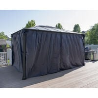 Palram Martinique 4300 Curtain Set - 2pk, 4pc