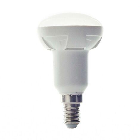 Bombilla reflec. LED E14 7W 830 R50 bl. cál. 120º