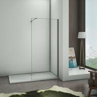 100x90x195cm Mamparas de ducha cabina de ducha 6mm vidrio templado de Aica