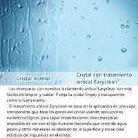Mamparas de Ducha Frontales Puerta Fijo WALK IN Antical 8mm Cristal Barra 70cm-120cm 120x200cm