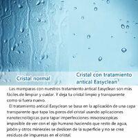 Mampara de Ducha italiana Walk -In, Cristal gris con tratamiento antical con barra de soporte ajustable 70 cm-120 cm - 120x200 cm