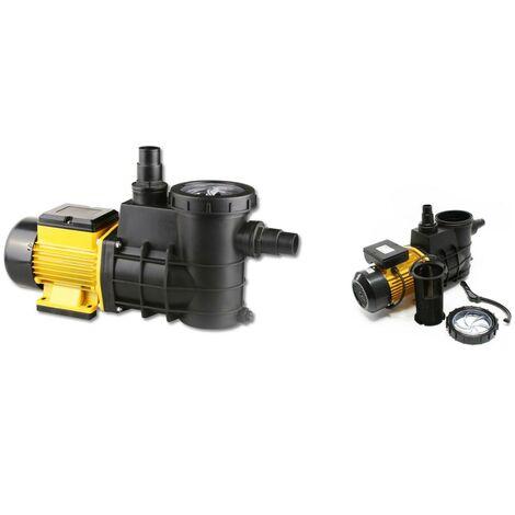 Pompe de filtration piscine 8000l/h - 380 w