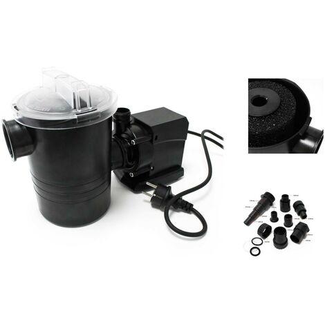 Pompe de filtration piscine 5000l/h - 70 watts
