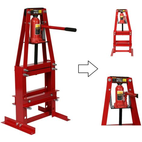 Presse hydraulique d 'atelier 6 Tonnes - Bati en A