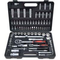 Coffret / Boite à outils 94 pièces ( douilles et cliquets)