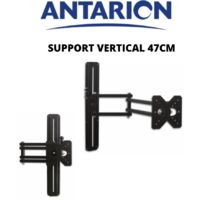 ANTARION - Support TV vertical à fixer 47cm