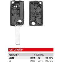 Boitier télécommande Plip 4 Boutons Citroen C8