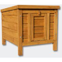 Cabane en bois pour lapins ou autres petits animaux WC