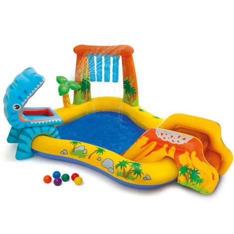 Intex Piscine gonflable Dinosaur Play Center 249x191x109 cm 57444NP