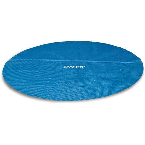 Intex Couverture solaire de piscine ronde 549 cm 29025