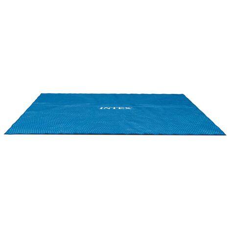Intex Couverture solaire de piscine rectangulaire 732x366 cm