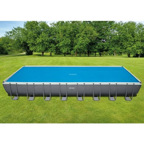 Intex Couverture solaire de piscine rectangulaire 975x488 cm