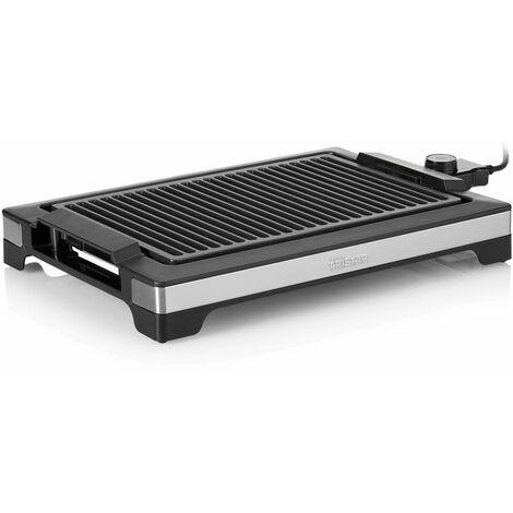 Tristar Plancha et barbecue électrique 2000 W 37x25 cm Noir