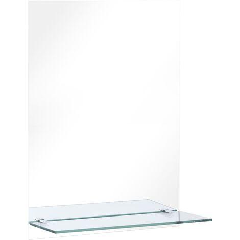 Miroir Mural Avec étagère 40x60 Cm, Bathroom Mirror 40 X 60