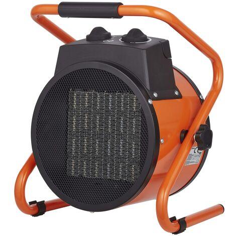 Qlima Chauffage électrique EFH 6030 3000 W Orange
