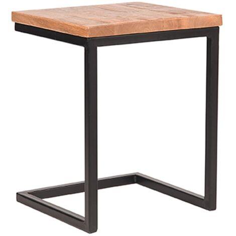LABEL51 Table d'ordinateur portable Vintage 40x40x50 cm