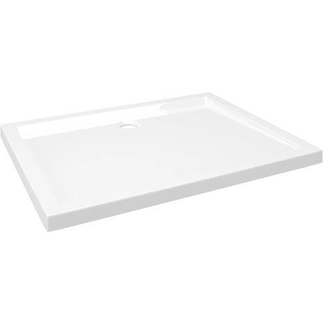 Receveur de douche rectangulaire ABS 70x90 cm
