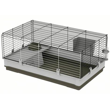 Ferplast Cage pour Lapins Krolik 100 L 100x60x50 cm Vert 57070517