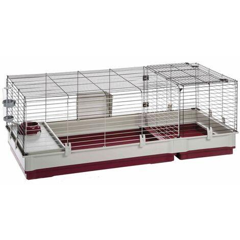 Ferplast Cage pour Lapins Krolik 140 142x60x50 cm 57072470