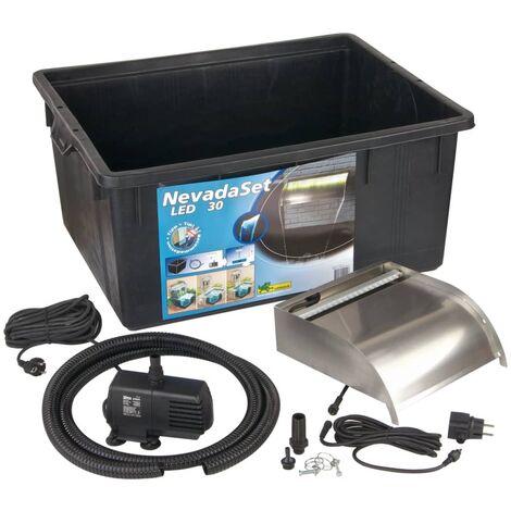 Ubbink Nevada 30 LED Kit Cascade pour bassin de jardin