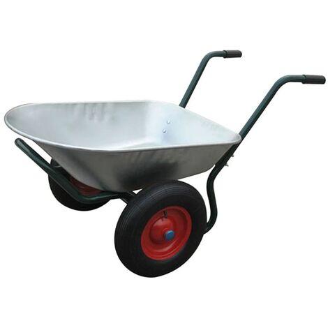 Brouette Jardinage 2 Roues 80 L